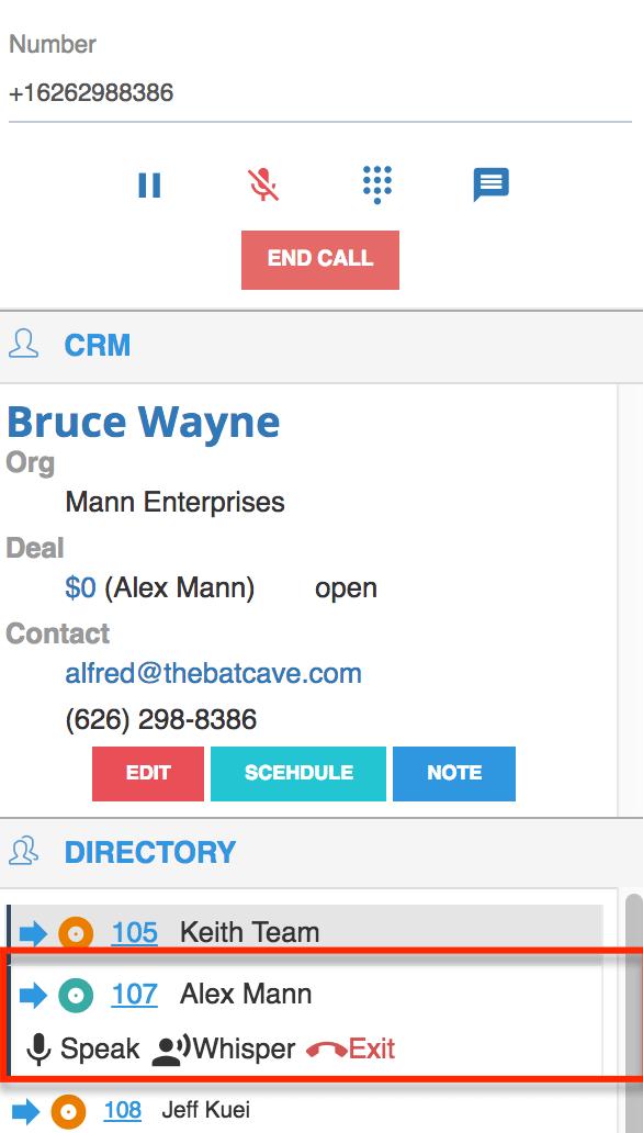 Call Coaching